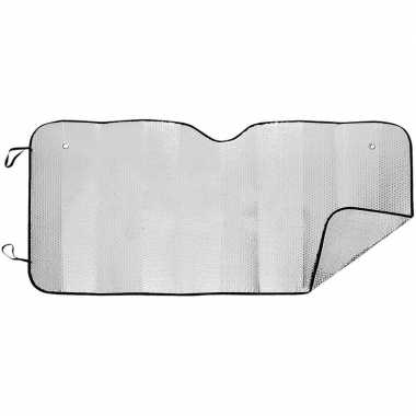 Auto zonnescherm/anti vorst deken tweezijdig 74 x 143 cm